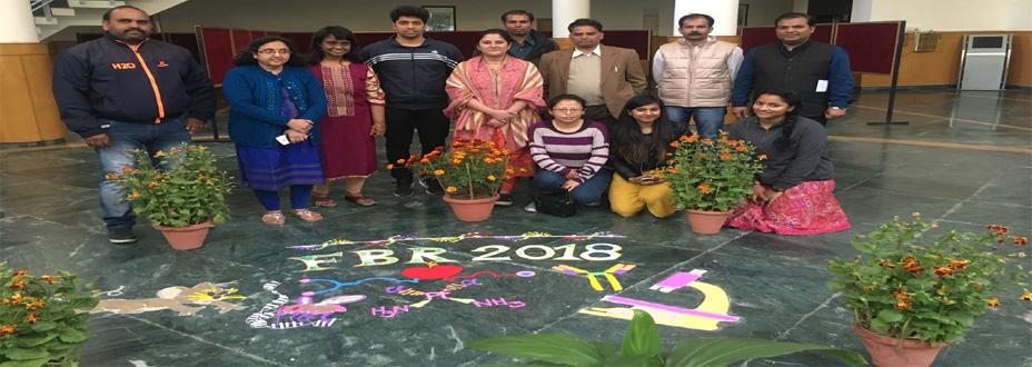 Rangoli for Ongoing Conference FBR2018