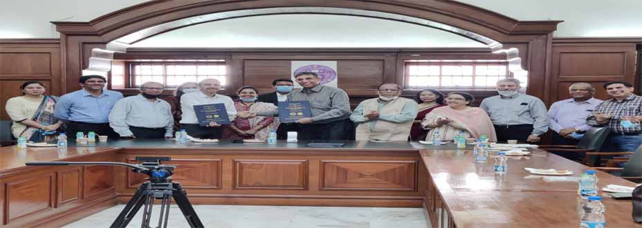 MOU between University of Delhi and Deos Lab Private Limited - 2021