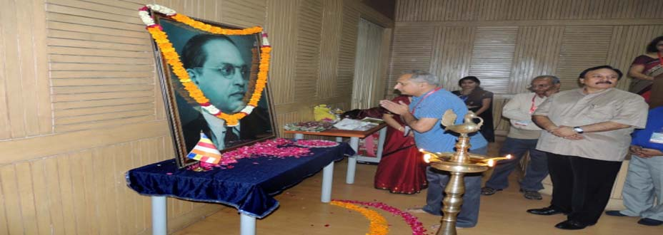 Director Paying Homage on Babasaheb Ambedkar's B'Day